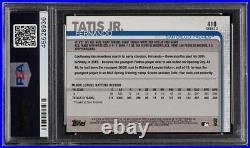 2019 Topps Complete Set All-Star Fernando Tatis Jr. ROOKIE RC #410 PSA 10 GEM