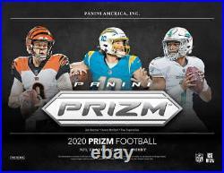 2020 Panini Prizm Football COMPLETE Set 1-400 W All Rookies Herbert Tua Burrow