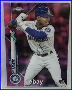 2020 Topps Chrome Pink Refractor Complete Set Mint All 200 Cards In Top Loaders