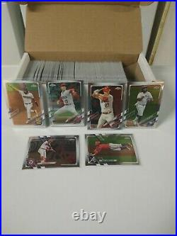 2021 Topps Chrome Baseball 1-220 Complete Set + All Insert Sets Rookie Cards