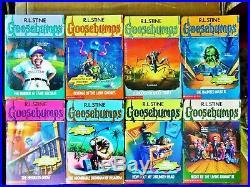 62 Complete Set 1-62 Goosebumps All Original Series Books