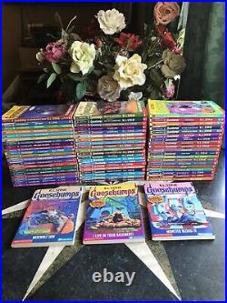 62 Complete Set 1-62 Goosebumps All Original Series Books! 19 Collectibles