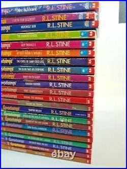 62 Complete Set 1-62 Goosebumps All Original Series Books Numbered. 30 1st Print