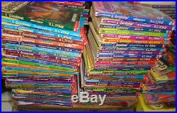 62 Goosebumps Complete Set-all original covers 1 to 62 R. L. Stine! #11 withmask