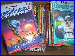62 Goosebumps R. L. Stine /complete set-all originals