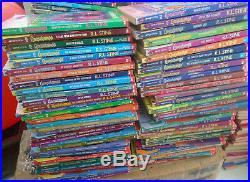 62 complete set Goosebumps books -all original covers! R. L. Stine-5 collectibles