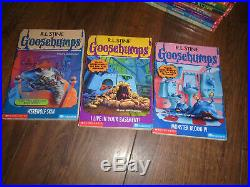 62 complete set of Goosebumps books -all original covers! R. L. Stine-one withcards