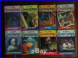 63 Complete Set Goosebumps All Original Series Books! With 11 Collectables
