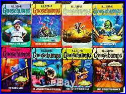 63 Complete Set Goosebumps All Original Series Books! With 11 Collectibles