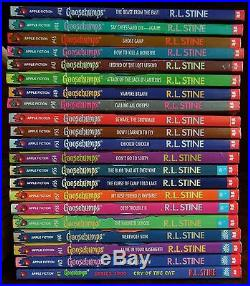 63 Complete Set Goosebumps All Original Series Books! With 13 Collectibles