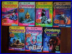 63 Complete Set Goosebumps All Original Series Books! With 13 Collectibles #1
