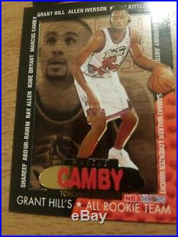 96-97 Hoops Grant Hill All Rookie Team Complete Set Kobe Bryant Iverson 11 cards