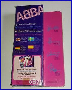 ABBA set of 4 matchbox dolls boxed all original 1978