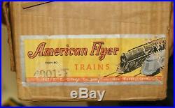 AC Gilbert American Flyer S Gauge 4901T Steam Freight Train set all original