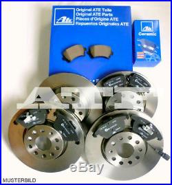 ATE Bremsen Bremsscheiben CERAMIC Bremsbeläge AUDI A6 C6 4F2 4F5 Komplettset