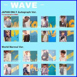 ATEEZ TREASURE EP. 3 One To All / WAVE ver. Official Photocard Photo card