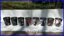AVENGERS ENDGAME POPCORN TIN (8) Bucket SET INFINITY WAR ALL 6 AVENGERS plus 2