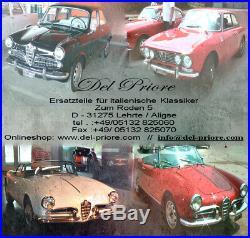 Alfa Romeo Spider Seitenwand Panel Hinten Links 115 1970-82 Fastback B-ware Neu