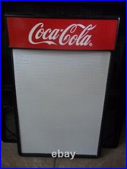 All New Classic Vintage Coca-Cola Menu Board Sign Original Letter Sets & inserts