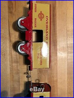 All Original Hafner Overland Flyer Century of Progress Special Train Set WithBox