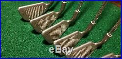 All Original RH PING ISI (White Dot) 3-PW Iron Set Ping, JZ Steel Stiff Shafts