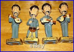 All Original- The Beatles Bobble Head Set-car Mascots Inc 1964 + Box