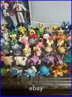 All first gen 151 Pokemon Tomy figures! Original 151 complete set with Trainers