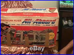 American Flyer All Aboard Pioneer 600 Set in Original box. Very nice & 24574