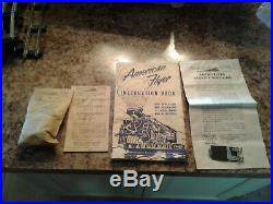 American Flyer Complet 5108w Set 1952 With All Original Box