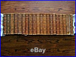 Antique 20 Volume Set Charles Dickens Books Complete All Leather Chapman Hall