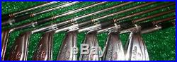 Arnold Palmer Golf AP Tru-Matic 2-PW Iron Set Matching #'S 10340 ALL ORIGINAL