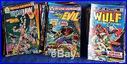 Atlas/Seaboard Complete set of all original colour comics 57 issues High Grade