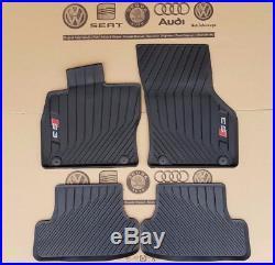 Audi A3 8V S3 original Fußmatten 4 Stück Gummimatten vorne hinten Gummifußmatten