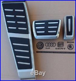Audi A4 B8 original S-Line pedal cover kit pads caps S4 8K A5 S5 RS5 Q5 SQ5 RHD