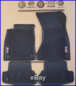 Audi A5 Coupe 8W original S5 Fußmatten Gummimatten vorne hinten Gummifußmatten
