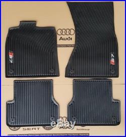 Audi A7 original S7 Sportback Fußmatten Gummimatten vorne hinten Gummifußmatten