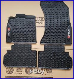 Audi Q5 ab 2017 original SQ5 Fußmatten Gummimatten Gummifußmatten rubber mats