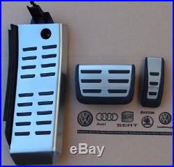 Audi RS6 4F original Pedalset Pedale A6 S6 C6 Pedalkappen Fußstütze footrest