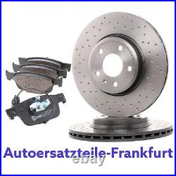 BREMBO GELOCHT Bremsscheiben 314mm + Bremsbeläge VORNE AUDI A4 B9 8W AUDI A5 F5