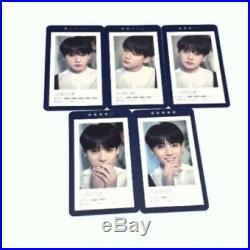 BTS 5th Muster Magic Shop Official MD Guest Card JungKook 5Ea All set