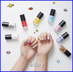 BTS BT21 Official Authentic Item Nail Color Polish Manicure Pedicure KPOP Goods