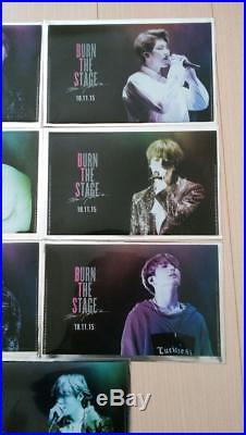BTS Japan Burn the Stage the Movie Official Ticket Folders Full Set ALL MEMBERS
