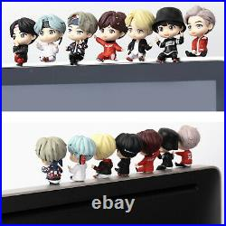 BTS K-Pop Shelf / Monitor Figures