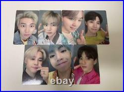 BTS Lights Boy With Luv Official Photo Card Complete All 7 Set FC Limited Japan