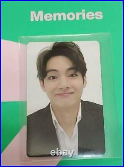 BTS Memories of 2020 official photocard photo card DVD ver. 7 all members set