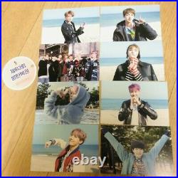 BTS Official Public Broadcast PhotoCard Spring day All set