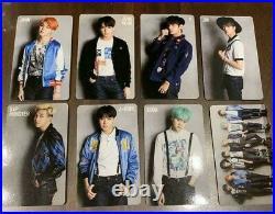 BTS RUN ALL Photocard Official RM Jin Suga J-Hope Jimin V JUNGKOOK Complete Set