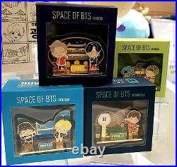 BTS korea seoul Lotte POP UP Store Official Goods 4 City TinyTAN magnet set