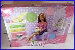 Barbie Play All Day Nursery Gift Set Midge and Baby Brand New in Box Sealed