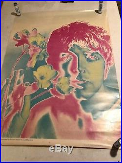 Beatles Set Of All 5 Original U. S 1967 Posters Look Magazine By Richard Avedon